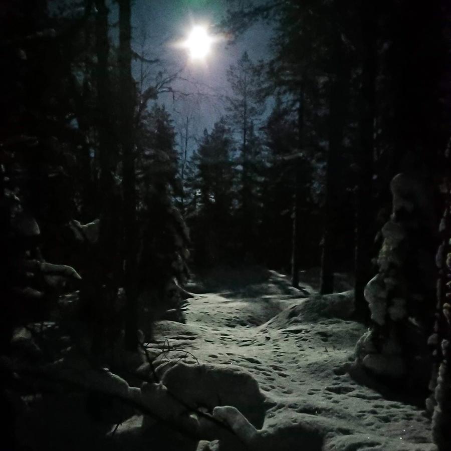 Foto: Min vän x har fotat detta magiska månsken
