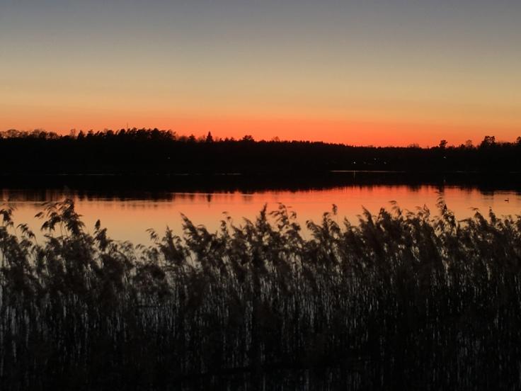 Dagens solnedgång 2019-04-17
