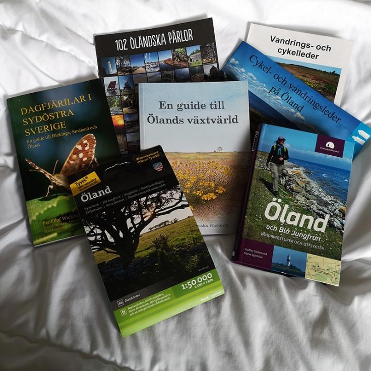 Böcker och kartor om Öland