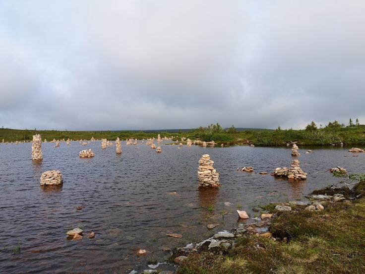 Stensjön uppe på Sälfjället, Lindvallen