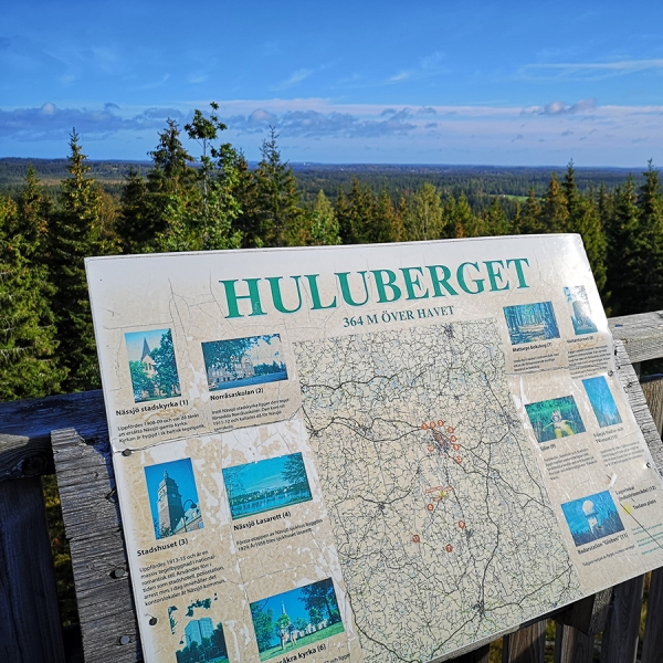 Huluberget längs Höglandsleden
